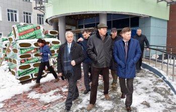 Губернатор Хабаровского края посетил строительную площадку Инженерной школы в рамках рабочего визита в г. Комсомольск-на-Амуре