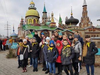 Учащиеся 5А и 8А классов в сопровождении классных руководителей Васенко О.И. и Старовойт Т.С. провели осенние каникулы в Казани