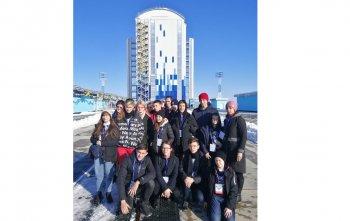 29-31 октября учащиеся 10А и 6Б классов совершили космическое путешествие на космодром «Восточный», расположенный в Амурской области