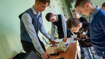 """Городская выставка технического творчества """"Мой робот"""" прошла в Инженерной школе"""