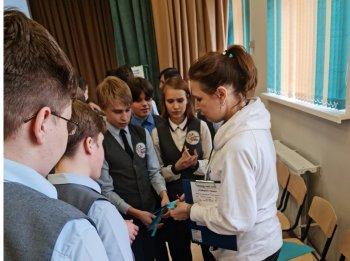 Учащиеся 6-8 классов Инженерной школы встретились с Уполномоченным по правам ребенка